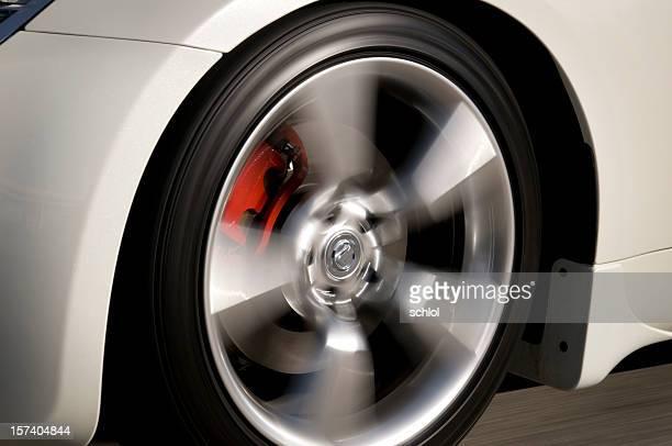 Speeding Wheel