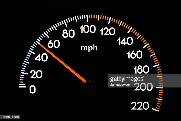 Compteur de vitesse de 50 km/h