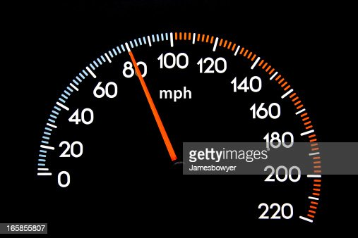 speedometer 80 mph stock photo getty images. Black Bedroom Furniture Sets. Home Design Ideas