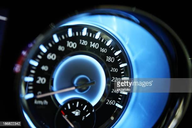 speedometer closeup