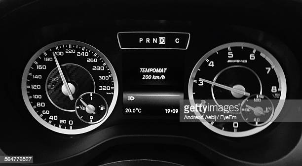 Speedometer Of Car