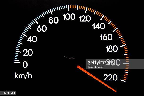 Compteur de vitesse-(kmh