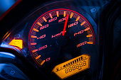 Speedometer motorbike