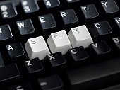 SEX Spelled on Keyboard