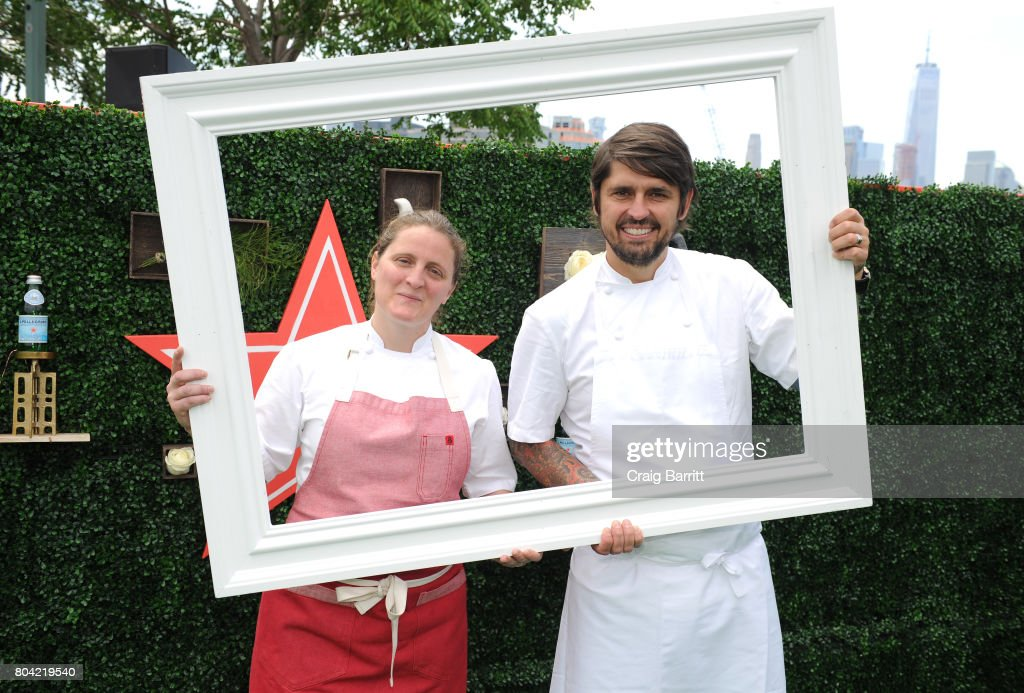 S.Pellegrino Taste Guide Event With Chefs April Bloomfield & Ludo Lefebvre - Consumer Event