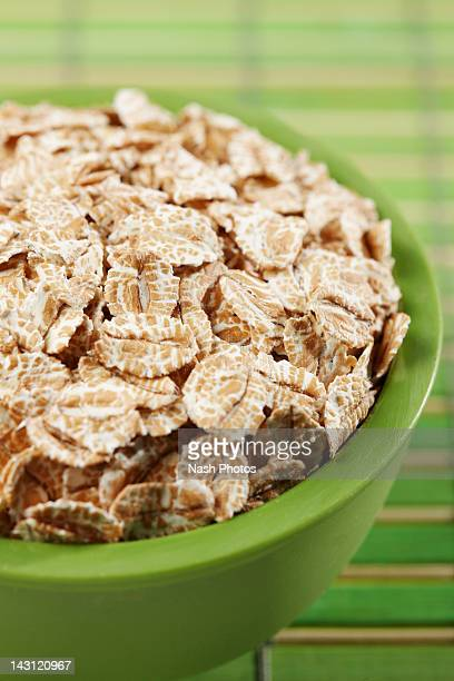 Spelt flakes in a bowl