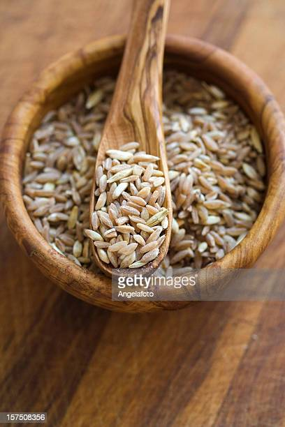 Dinkel in Olive Wood Bowl