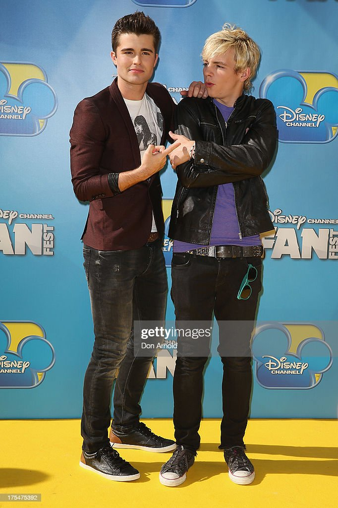 <a gi-track='captionPersonalityLinkClicked' href=/galleries/search?phrase=Spencer+Boldman&family=editorial&specificpeople=8538570 ng-click='$event.stopPropagation()'>Spencer Boldman</a> and <a gi-track='captionPersonalityLinkClicked' href=/galleries/search?phrase=Ross+Lynch&family=editorial&specificpeople=4814597 ng-click='$event.stopPropagation()'>Ross Lynch</a> attend the Australian premiere of The Disney Channel's 'Teen Beach Movie' on August 4, 2013 in Sydney, Australia.