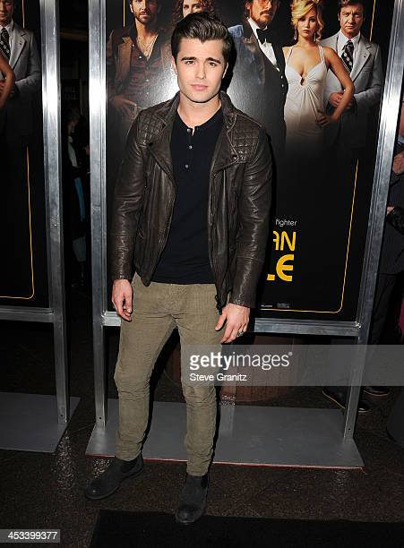 Spencer Boldman arrives at the 'American Hustle' Los Angeles Premiere at Directors Guild Theatre on December 3 2013 in West Hollywood California