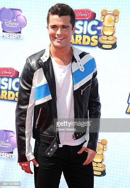 Spencer Boldman arrives at the Disney Channel Presents 2014 Radio Disney Music Awards at Nokia Theatre LA Live on April 26 2014 in Los Angeles...