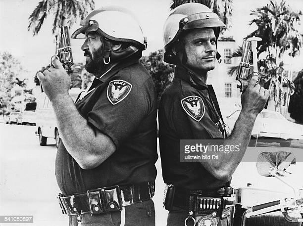 Spencer Bud *Schauspieler Italien mit Terence Hill in dem Film 'Zwei ausser Rand und Band' 1977