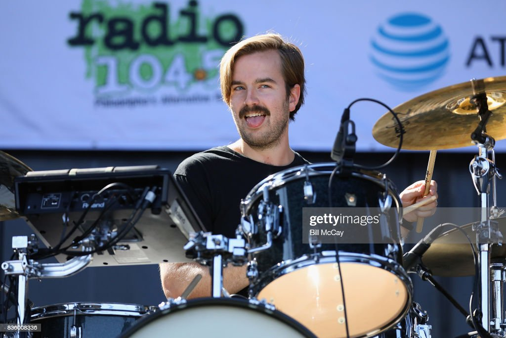 Spencer Cross of the band Judah and The Lion performs at the Radio 104.5 Summer Block Party August 20 , 2017 in Philadelphia, Pennsylvania