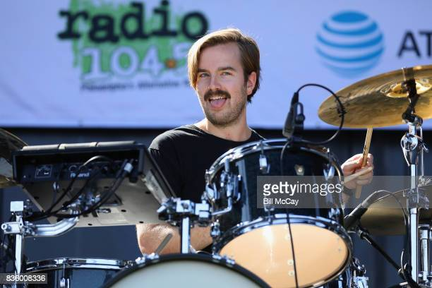 Spencer Cross of the band Judah and The Lion performs at the Radio 1045 Summer Block Party August 20 2017 in Philadelphia Pennsylvania