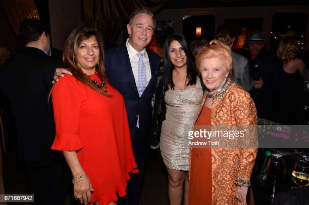 Spencer Garrett and Kathleen Nolan attend the after party for Dog Years presented by EFFEN Vodka during 2017 Tribeca Film Festival at The Griffin...