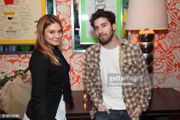 Spencer Grammer and Jake Hoffman attend LA MER Screening of Disneynature's OCEANS at Crosby Street Hotel on April 20 2010 in New York City