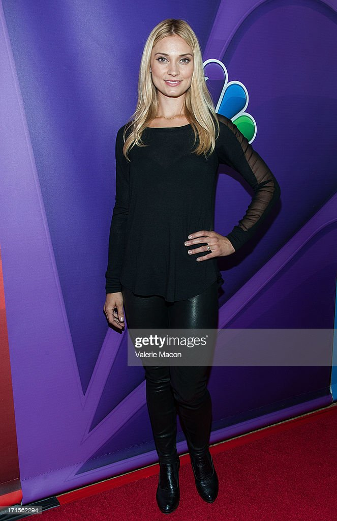 Spencer Grammer attends NBCUniversal's '2013 Summer TCA Tour' at The Beverly Hilton Hotel on July 27, 2013 in Beverly Hills, California.
