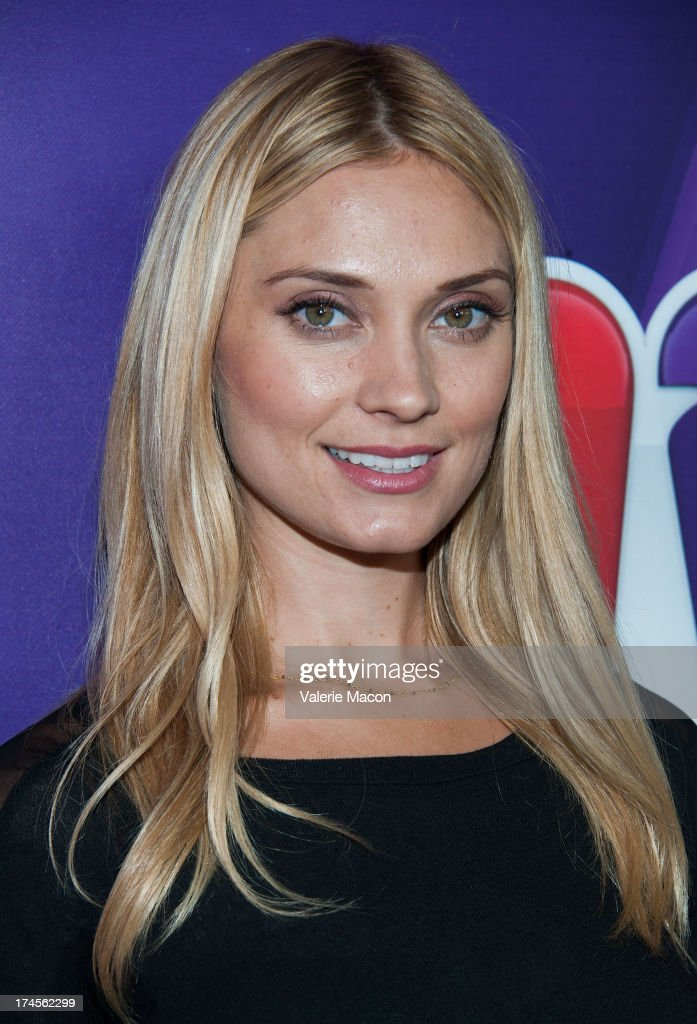 <a gi-track='captionPersonalityLinkClicked' href=/galleries/search?phrase=Spencer+Grammer&family=editorial&specificpeople=3214329 ng-click='$event.stopPropagation()'>Spencer Grammer</a> attends NBCUniversal's '2013 Summer TCA Tour' at The Beverly Hilton Hotel on July 27, 2013 in Beverly Hills, California.