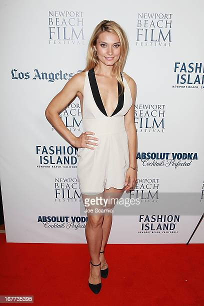 Spencer Grammer attends the 2013 Newport Beach Film Festival 'In Lieu Of Flowers' World Premiere at Triangle Square Theater on April 28 2013 in Costa...