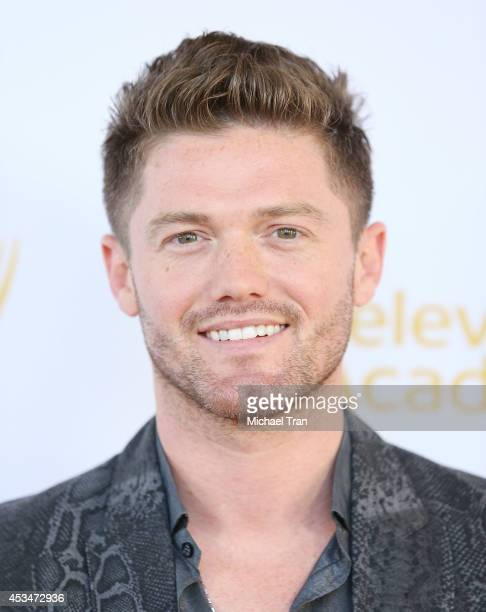 Spencer Liff arrives at Television Academy's Directors Peer Group choreographers celebration held at Leonard H Goldenson Theatre on August 10 2014 in...