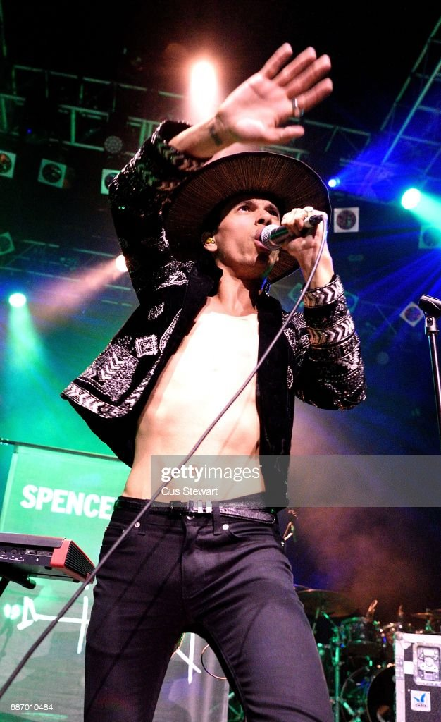 Spencer Ludwig performs at KOKO on May 18, 2017 in London, England.