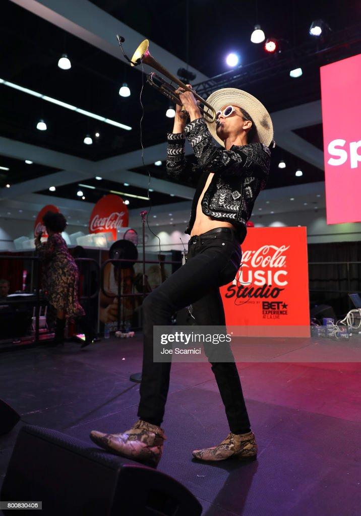 2017 BET Experience - Coca-Cola Music Studio - Day 2