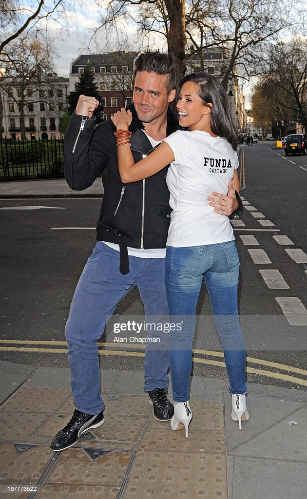 Spencer Matthews and <a gi-track='captionPersonalityLinkClicked' href=/galleries/search?phrase=Funda+Onal&family=editorial&specificpeople=7799262 ng-click='$event.stopPropagation()'>Funda Onal</a> attend fundraiser for 'The Brompton Fountain on April 29, 2013 in London, England.