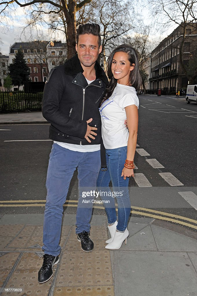 Spencer Matthews and Funda Onal attend fundraiser for 'The Brompton Fountain on April 29 2013 in London England