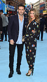 Spencer Matthews and Lauren Hutton attend the European premiere of 'Entourage' at the Vue West End on June 9 2015 in London England