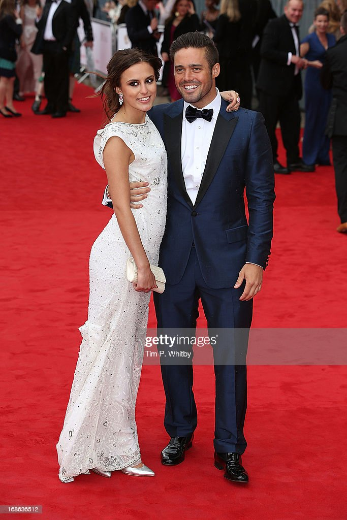 Spencer Matthews and Lucy Watson attend the Arqiva British Academy Television Awards 2013 at the Royal Festival Hall on May 12, 2013 in London, England.