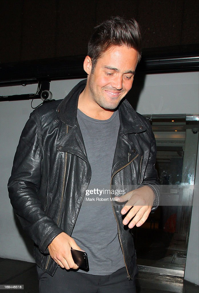 Spencer Matthews at The Embassy restaurant and club on May 9, 2013 in London, England.