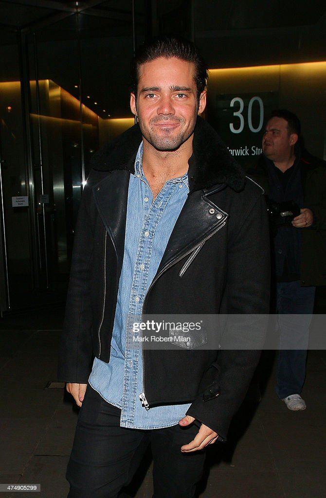 <a gi-track='captionPersonalityLinkClicked' href=/galleries/search?phrase=Spencer+Matthews&family=editorial&specificpeople=7799257 ng-click='$event.stopPropagation()'>Spencer Matthews</a> attending the Total Minx Launch Party on February 25, 2014 in London, England.