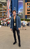 Spencer Matthews attends the Red Bull Air Race World Championships at Ascot Racecourse on August 15 2015 in Ascot England