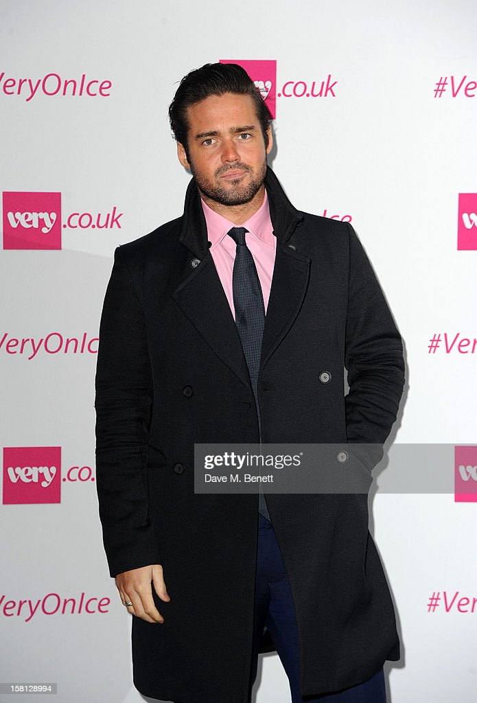 Spencer Matthews attends The UK's first Catwalk on Ice from Very.co.uk, held at the Tower of London Ice Rink, gave shoppers a more entertaining way to shop their Christmas outfits this season at Tower of London on December 10, 2012 in London, England.