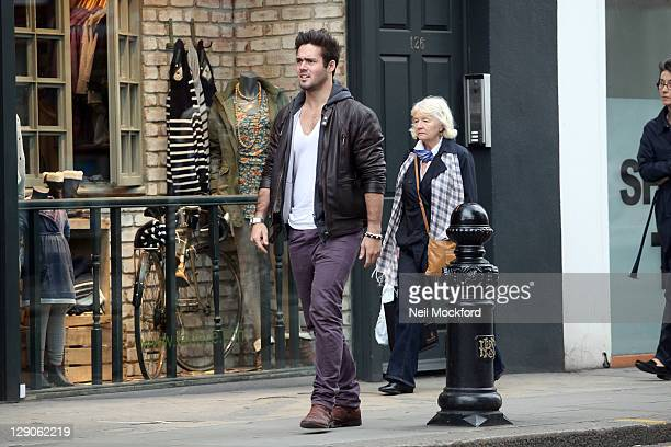 Spencer Matthews from E4's 'Made in Chelsea' is seen on King's road on October 12 2011 in London England