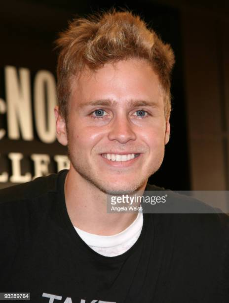 Spencer Pratt attends the book signing of his and Heidi Montag's new book 'How To Be Famous' at Barnes Noble Booksellers on November 21 2009 in Los...