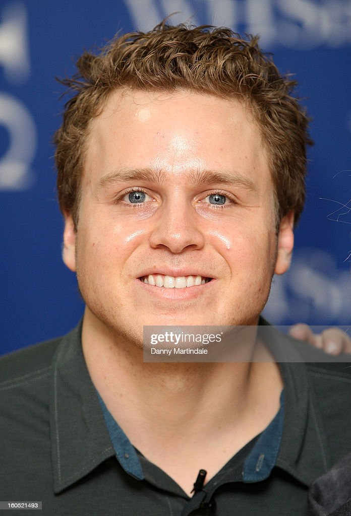 Spencer Pratt meet fans and sign copies of OK! Magazine at Brent Cross Shopping Centre on February 2, 2013 in London, England.
