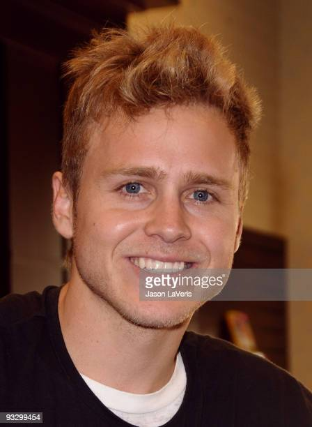 Spencer Pratt signs copies of 'How To Be Famous' at Barnes Noble bookstore at The Grove on November 21 2009 in Los Angeles California