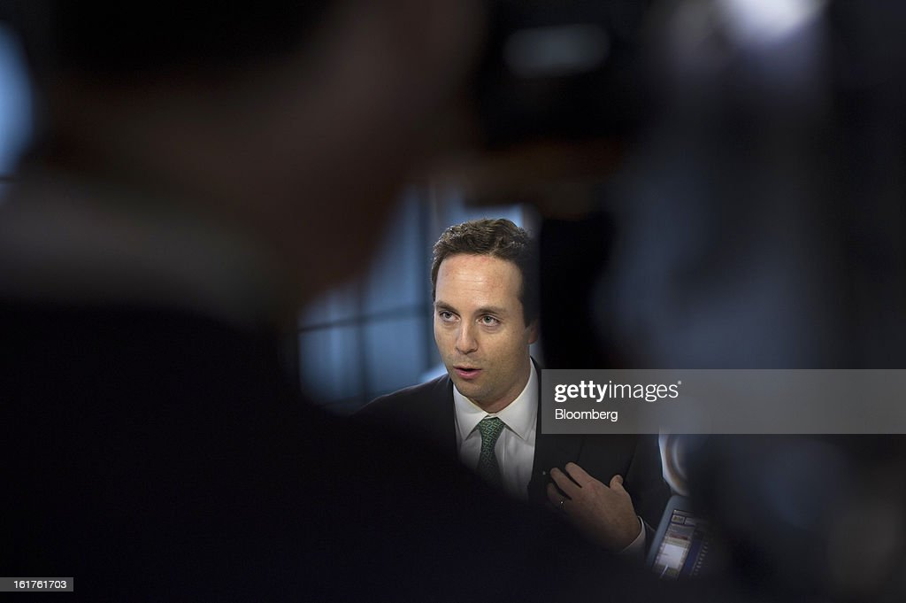 Spencer Rascoff, co-founder and chief executive officer at Zillow.com, speaks during a Bloomberg West Television interview in San Francisco, California, U.S., on Thursday, Feb. 14, 2013. Zillow Inc., operator of the largest real estate information website, jumped the most in eight months after reporting stronger-than-estimated fourth-quarter results as the U.S. housing market recovers. Photographer: David Paul Morris/Bloomberg via Getty Images