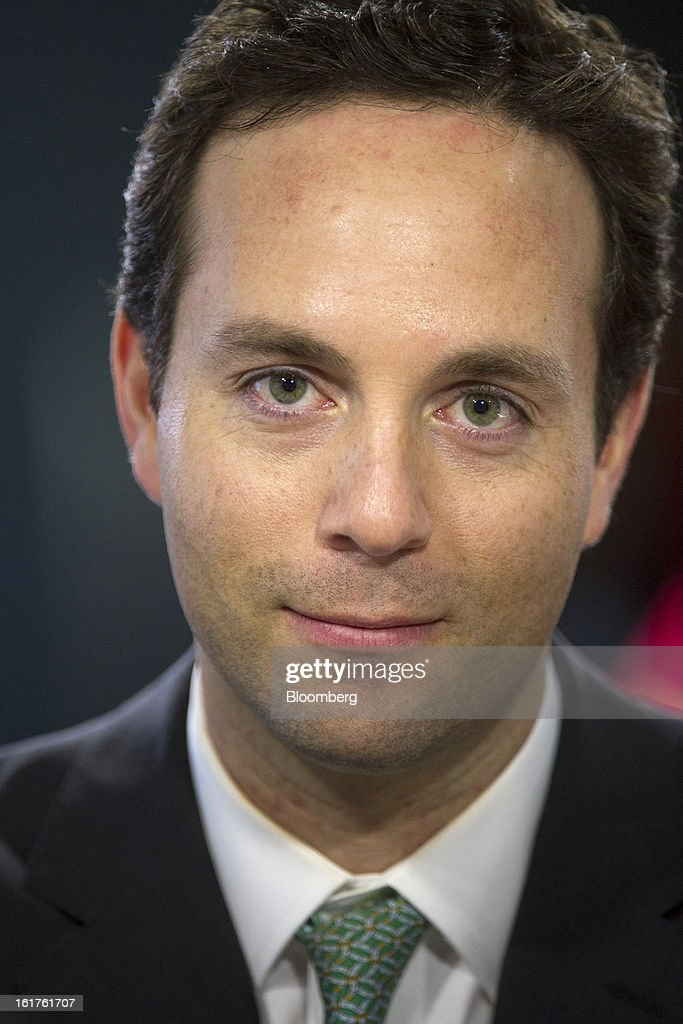 Spencer Rascoff, co-founder and chief executive officer at Zillow.com, sits for a photograph during a Bloomberg West Television interview in San Francisco, California, U.S., on Thursday, Feb. 14, 2013. Zillow Inc., operator of the largest real estate information website, jumped the most in eight months after reporting stronger-than-estimated fourth-quarter results as the U.S. housing market recovers. Photographer: David Paul Morris/Bloomberg via Getty Images