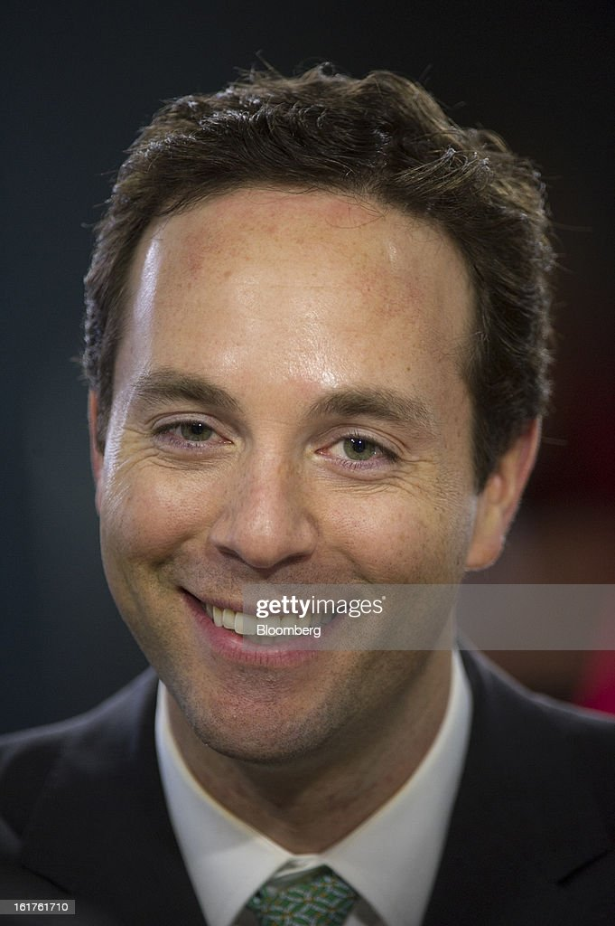 Spencer Rascoff, co-founder and chief executive officer at Zillow.com, smiles during a Bloomberg West Television interview in San Francisco, California, U.S., on Thursday, Feb. 14, 2013. Zillow Inc., operator of the largest real estate information website, jumped the most in eight months after reporting stronger-than-estimated fourth-quarter results as the U.S. housing market recovers. Photographer: David Paul Morris/Bloomberg via Getty Images