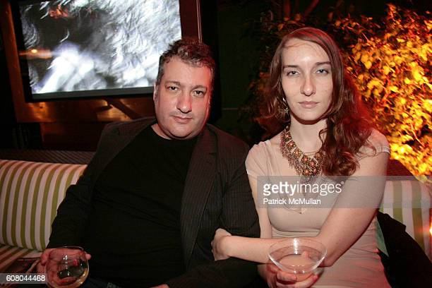 Spencer Tunick and Heather Wray attend HERMES Invites You to Discover Contemporary Video in Asia at Sagamore Hotel on December 8 2006 in Miami Beach...