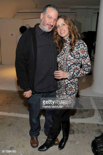 Spencer Tunick and Kristin Tunick attend SLIDELUCK Auction and Fundraiser Hosted by DJ SPOOKY and PATRICK MCMULLAN at Sandbox Studio on December 8...