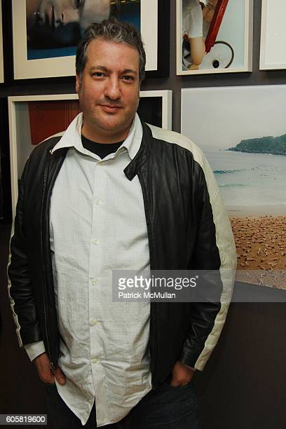 Spencer Tunick attends GIORGIO ARMANI and BARNEYS New York host ARTWALK at Barneys New York on October 24 2006 in New York City