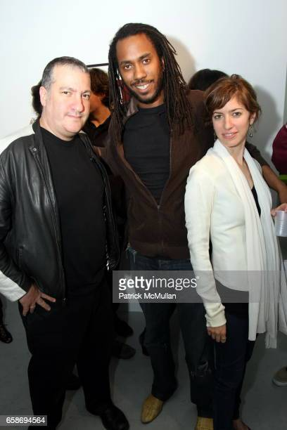 Spencer Tunick Rashid Johnson and Alison Chernick attend Opening of RICHARD KERN Photos 19801999 at RENTAL Gallery on June 4 2009 in New York City