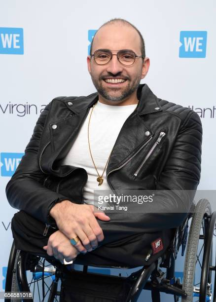 Spencer West attends WE Day UK at The SSE Arena on March 22 2017 in London United Kingdom