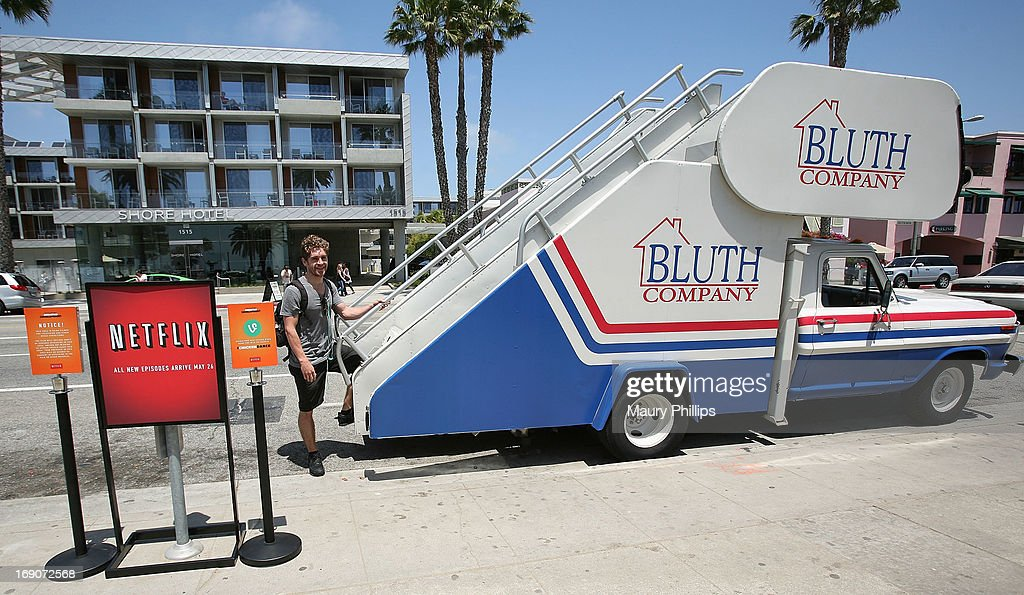 Spencer Wider attends 'Arrested Development' Bluth Stair Car at Santa Monica Pier on May 19, 2013 in Santa Monica, California.