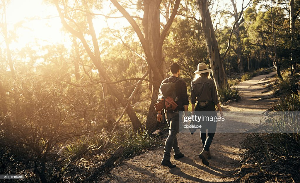 Spending a weekend in the wilderness : Stock Photo