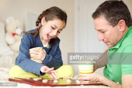 Spending time with children : Stock Photo