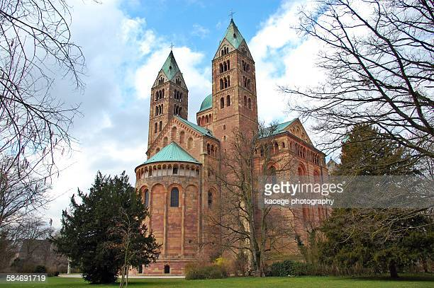 Speyer Cathedral, view of east side