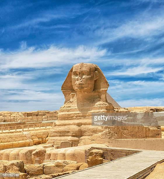 Sphinx in Cairo, Egypt